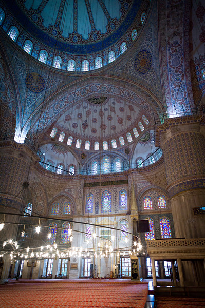 Blue Mosque decor