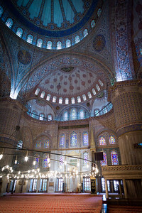 Blue Mosque decor