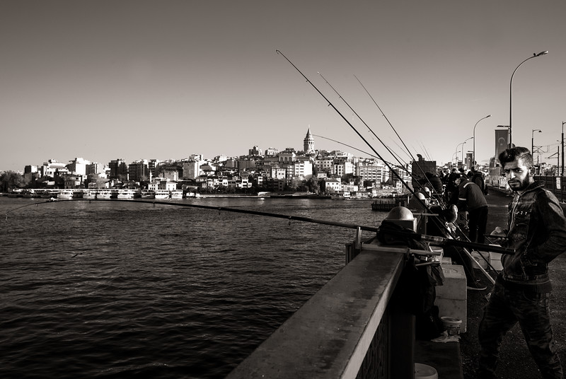 Galata Bridge and Tower.
