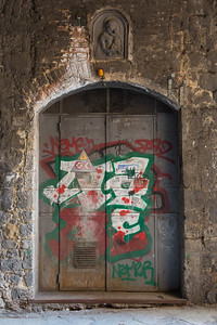 GRAFFITI ON DOOR
