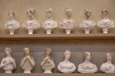 PLASTER CAST BUSTS