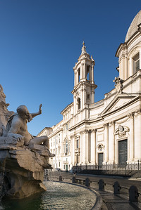 Piazza Navona - Fountain of the Four rivers