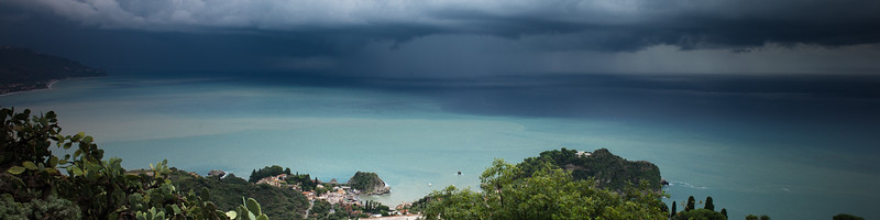 Stormy Taormina