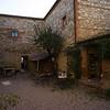 Il Rigo courtyard