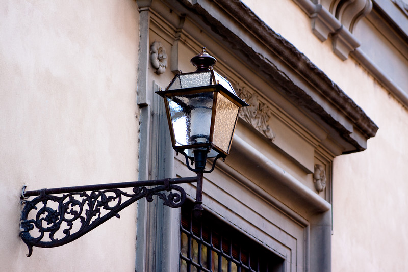 Old-style lamp