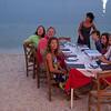 Agios Nicolaos beach restaurant.