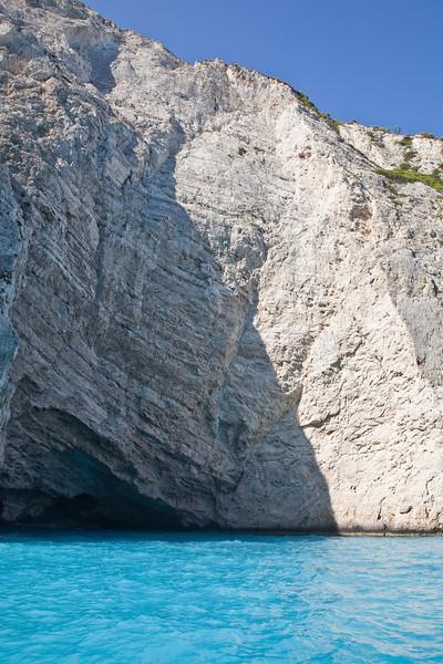 Shipwreck clifs near Porto Vromi.
