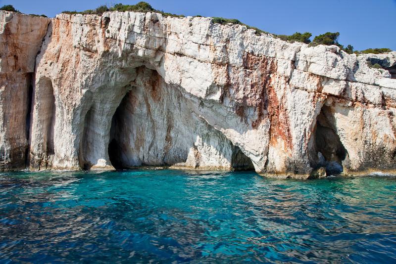 Cape Skinari, Blue Caves.