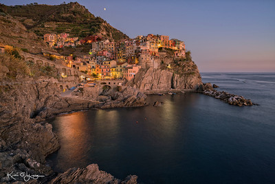 Manarola moonrise