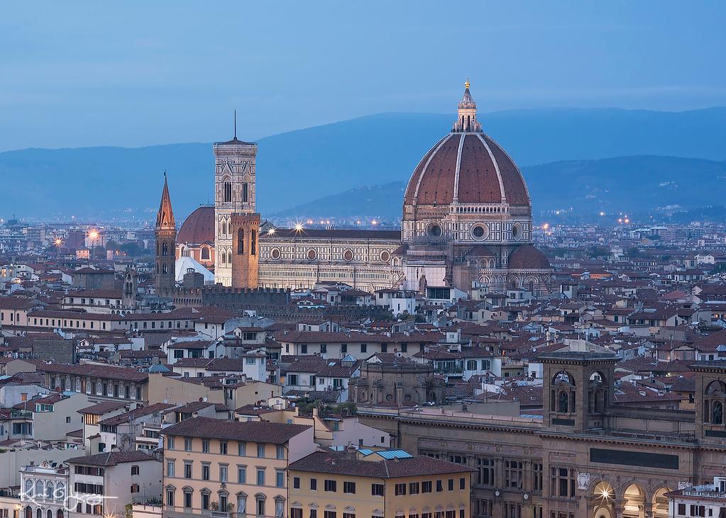 Dusk at Florence