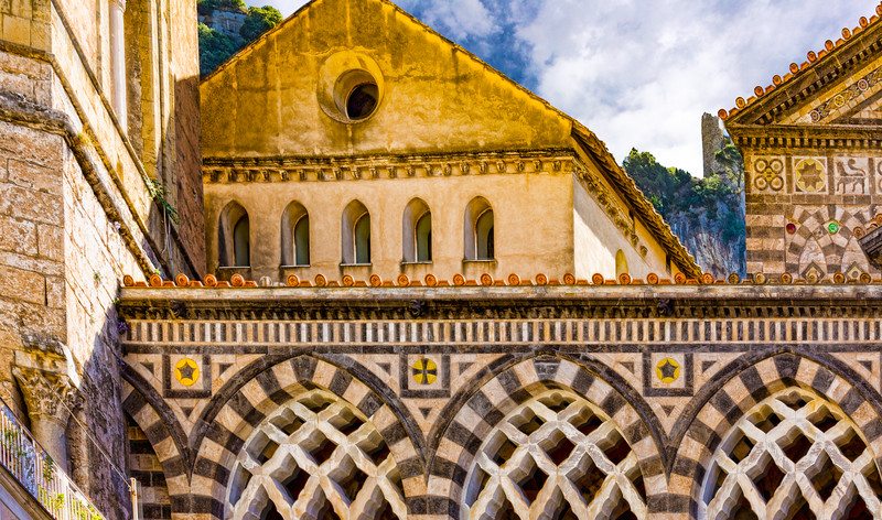 A part of the Amalfi Cathedral - Amalfi coast, Italy!