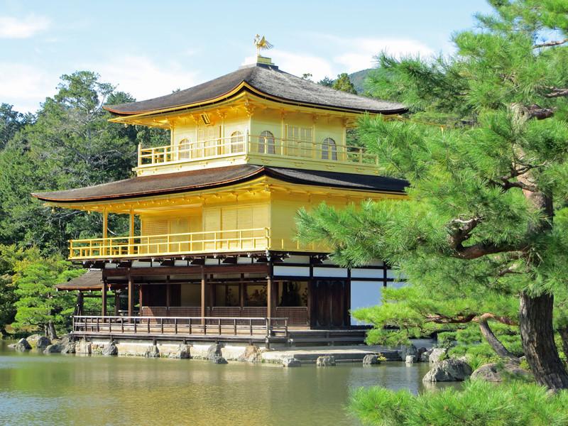 Kyoto - Rokuon-ji Temple a World Cultural Heritage site.