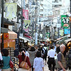 Shopping in the Yanaka Ginza District which survived both the 1923 earthquake and the 1945 bombing.