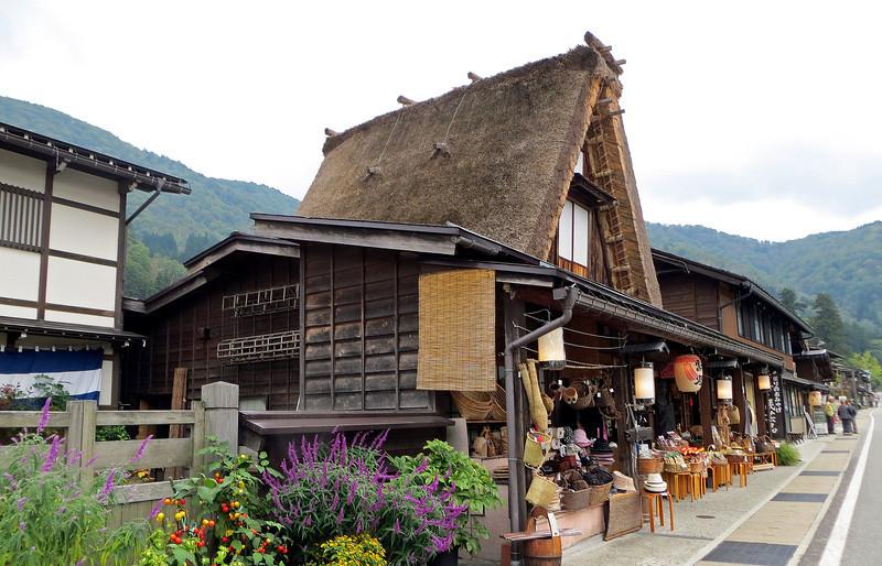 Shirakawago - Ogi-machi gassho style village