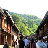 Tsumago - A former post town on the Nakasendo. It reflects Edo Period architecture.