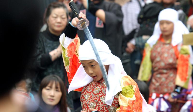Shirakawago Sake Festival - Lion Dance
