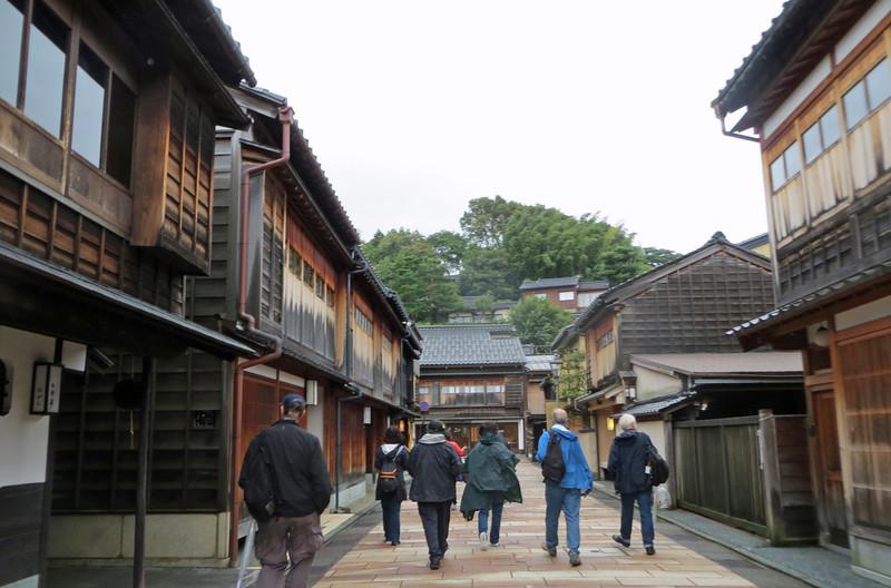 Kanazawa - Higashi Chaya District.   Edo period architecture.