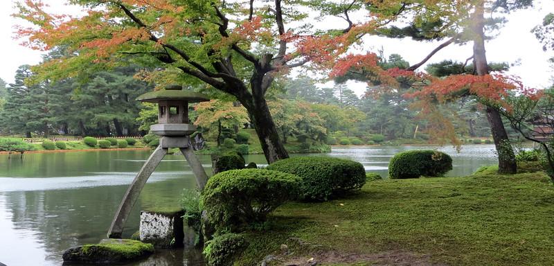 Kanazawa - Kotojitoro Lantern at Kenrokuen Gardens
