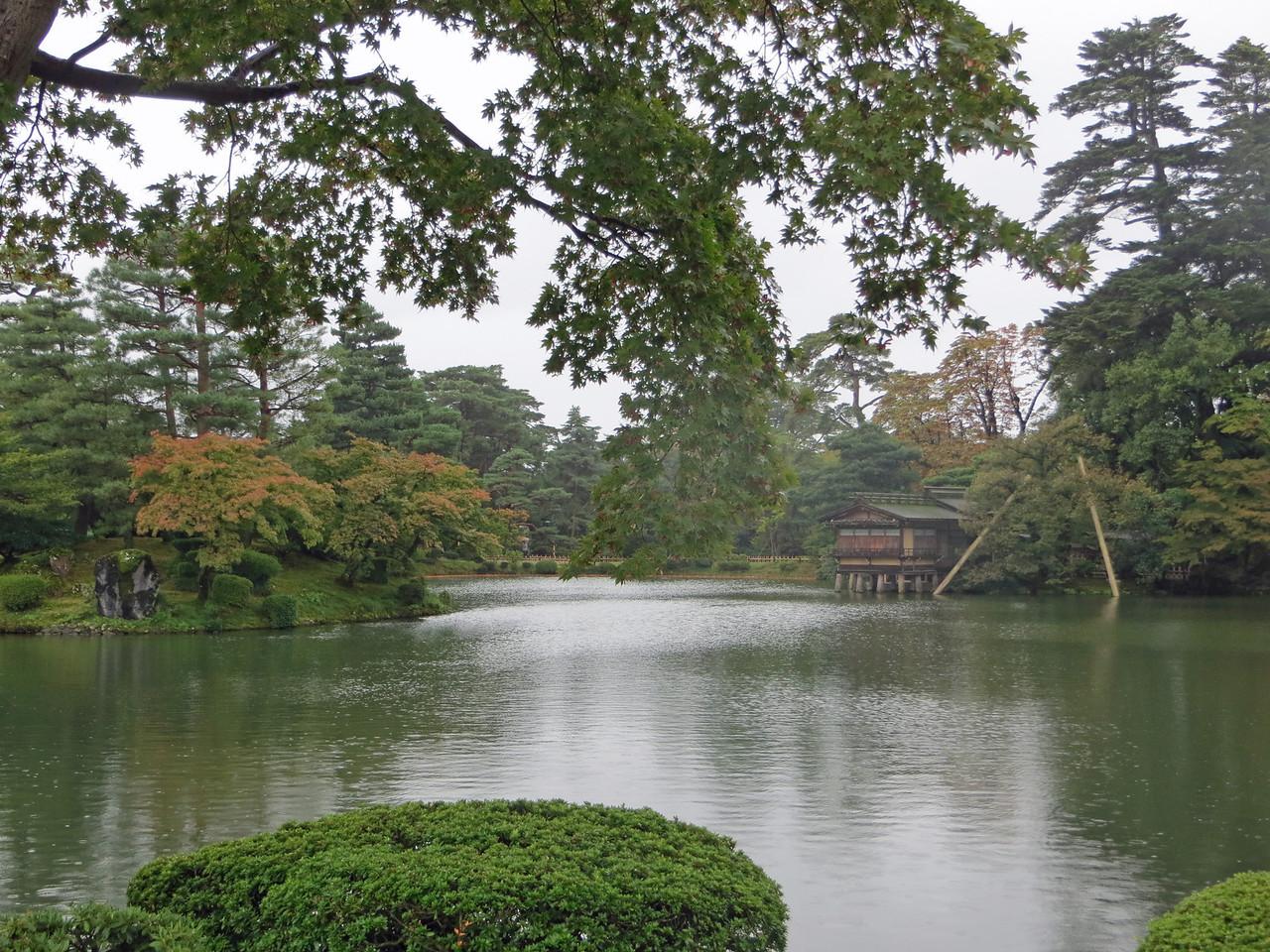 Hisago Pond - Kenroku-en Garden