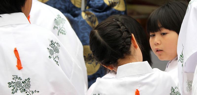 Shirakawago - Print Pattern with Girls