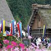Shirakawago - Staging for Sake festival parade