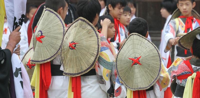 Shirakawago - Festival Hats