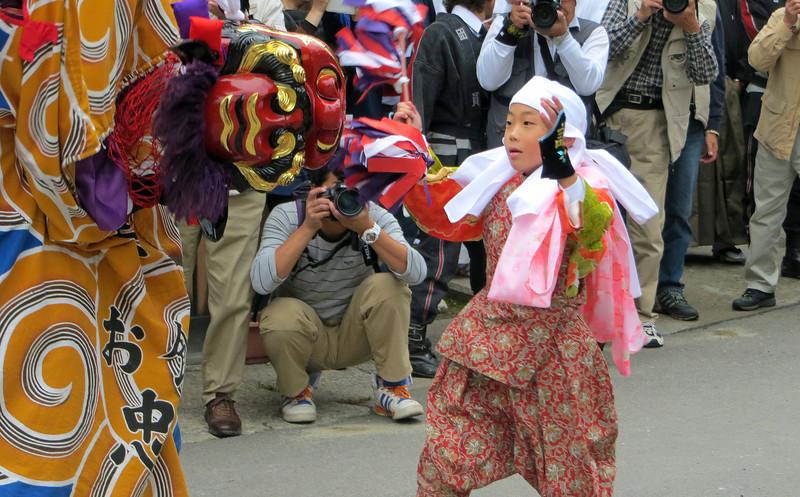 Shirakawago - Lion Dancer