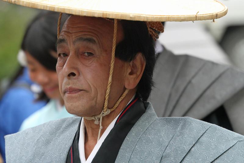 Shirakawago - Gentlman in Hat