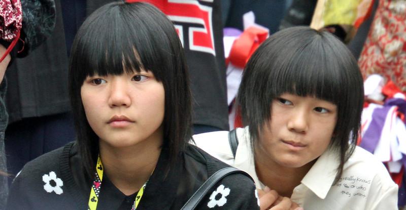Shirakawago - Teenagers