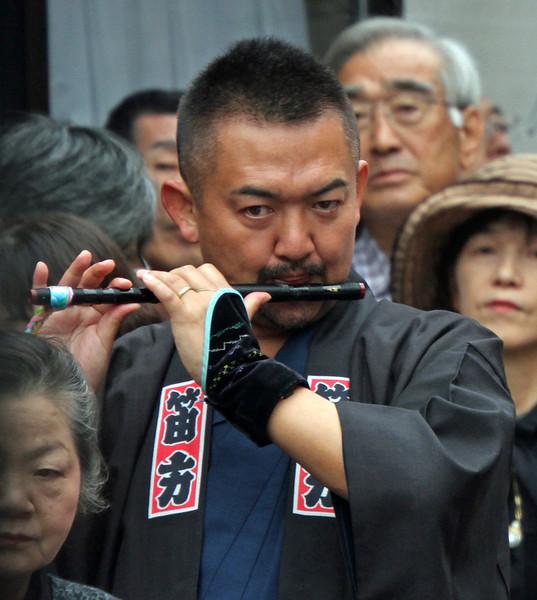 Shirakawago - Flute Player