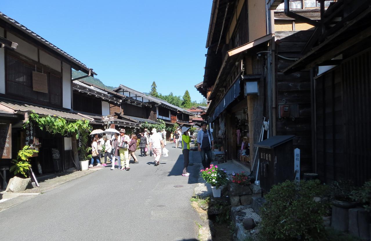 Tsumago - Edo period architecture