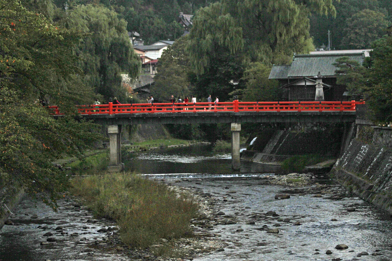 Nunobikibashi Bridge - A popular spot to view festival floats as they pass through the old district of Takayama.