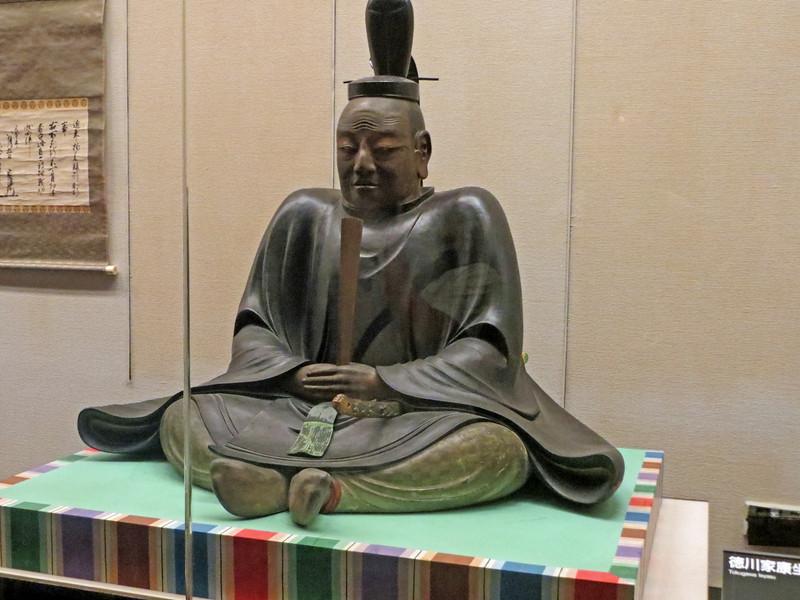 Edo-Tokyo Museum - Leyasu Tokugawa the first Shogun of the Tokugawa shogunate of Japan.