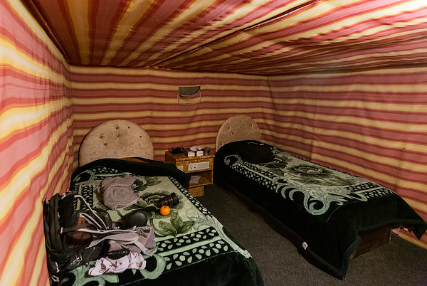 Don't think this is how the Bedouins camped, but works for me:)