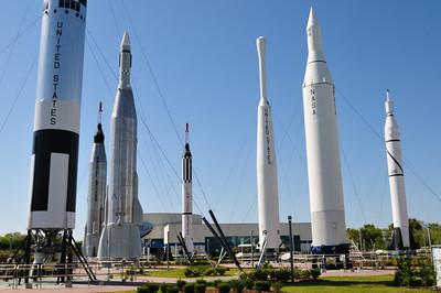 Rockets in the Rocket Garden