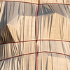L'Arc de Triomphe, Wrapped - Christo & Jeanne Claude Project - Paris, Sept 2021 - Sunrise, early morning