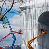 Christo & Jeanne Claude - L'Arc de Triomphe Wrapped - Paris, Sept 2021