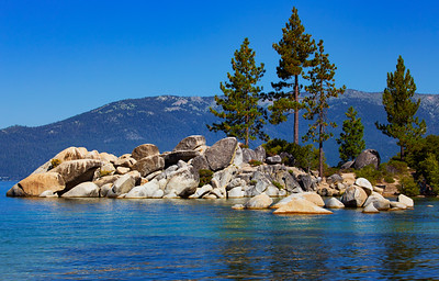 Beautiful Lake Tahoe!  The rocks!