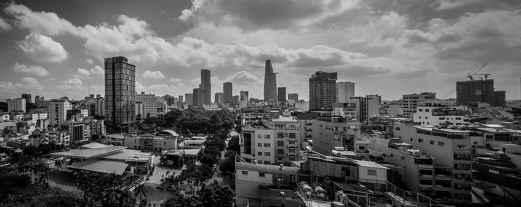 HCMC skyline panorama