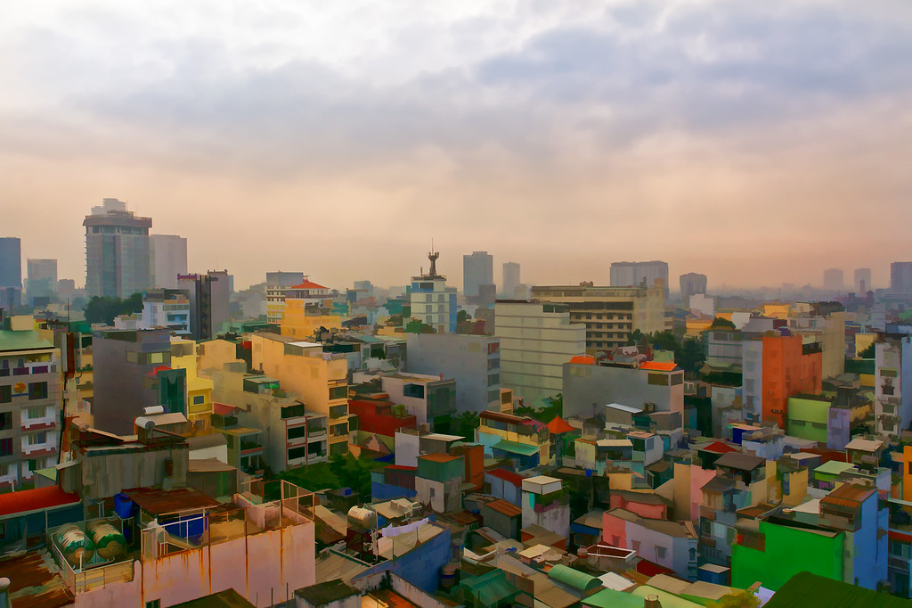 Rooftop view - Saigon