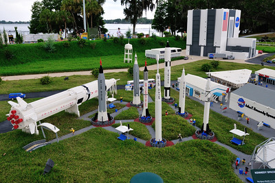The Rocket Garden at Kennedy Space Center