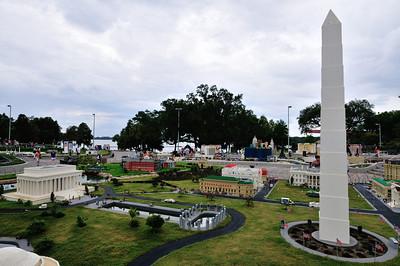 Washington and Lincoln Memorials