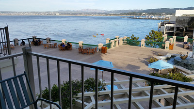 View from the hotel room @Monterey Plaza Hotel and Spa