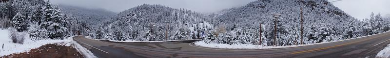 Highway 66 between Boulder, CO and Estes Park, CO