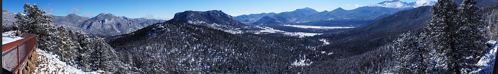 View from Many Parks Curve, Rocky Mountain National Park, Colorado