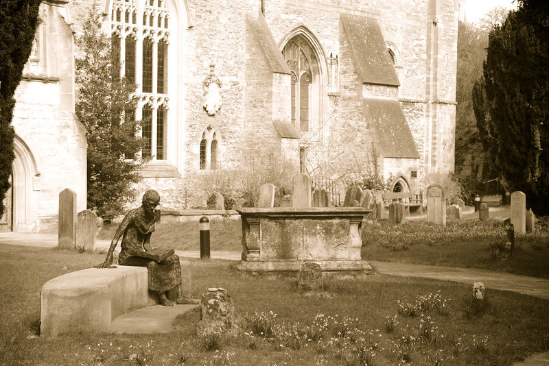 4-2-13- Oxford Churchyard