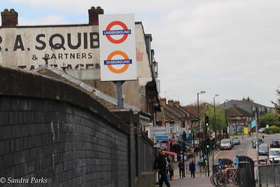 North Wembley. My tube station