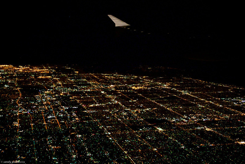 Coming into Los Angeles