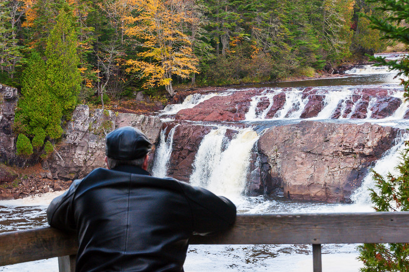 Joe Shooting LePreau Falls
