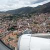 Landing in Cuzco, Peru